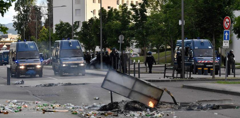 Brutalna wojna gangów we Francji. Dantejskie sceny na ulicach!