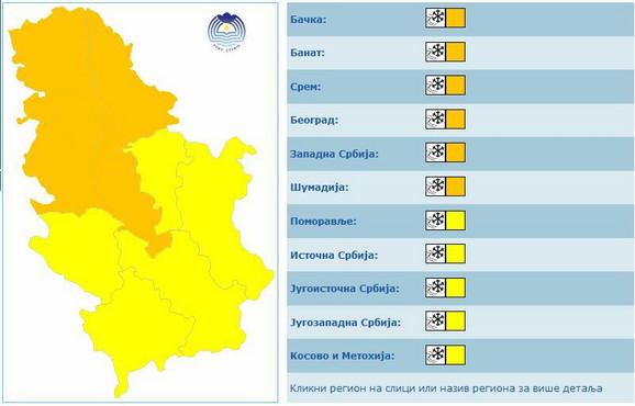 Božić pod minusom i mrazom: Narandžasti meteoalarm i temperature do -20