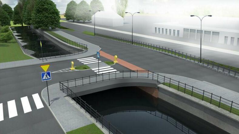 W rejonie dzisiejszego mostu nad Kanałem Raduni powstanie zupełnie nowy przejazd