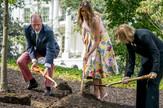 Melanija Tramp, bašta, vrt