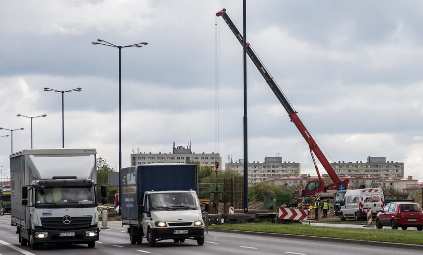 Rusza budowa estakady w krakowskich Czyżynach