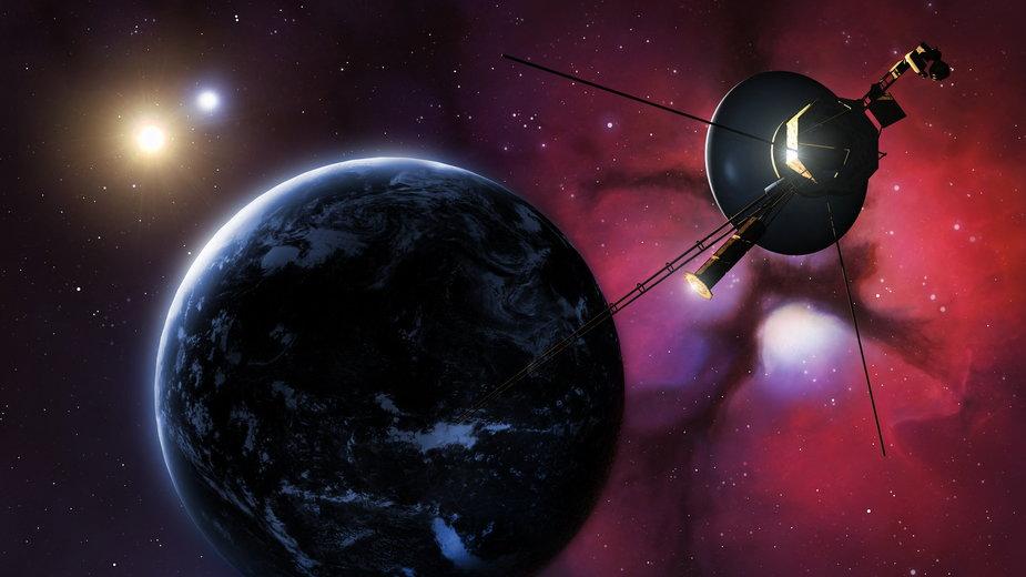 Sonda Voyager 1 to działający i najdalej wysłany obiekt w kosmosie