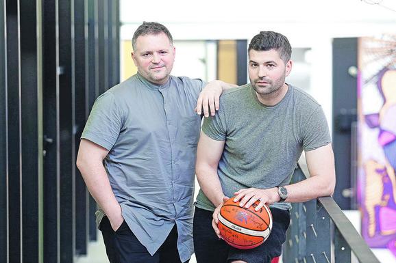 Uspešna braća: Aleksandar (levo) i Obrad Fimić
