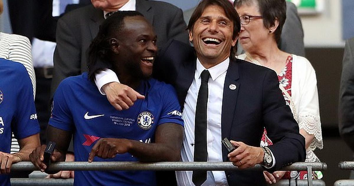 Image result for Victor Moses reunites with Conte, joins Inter Milan on loan