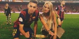 20-latek z FC Barcelona skradł serce seksbomby. GALERIA