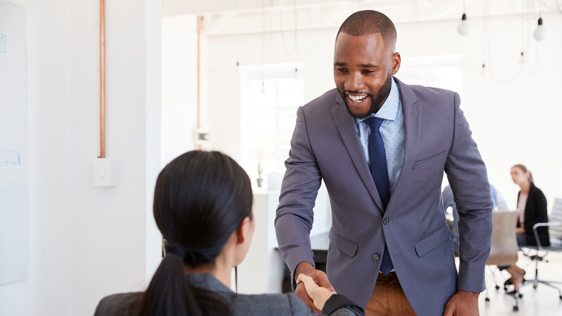 Don't think offering a compliment to an HR is enough to get you the job. (Shutterstock)
