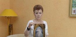 Oskarża księdza o sprofanowanie obrazu Chrystusa