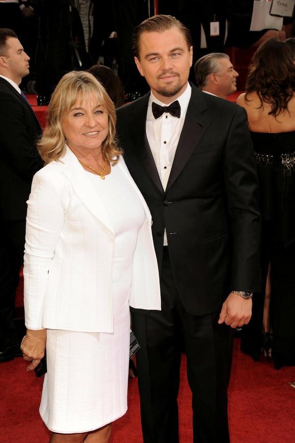Leonardo Dikaprio sa majkom Irmelin