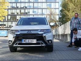 Czytelnicy testują Mitsubishi Outlander