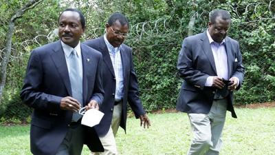 Return of NASA? Kalonzo, Wetangula and Mudavadi hold meeting in Karen