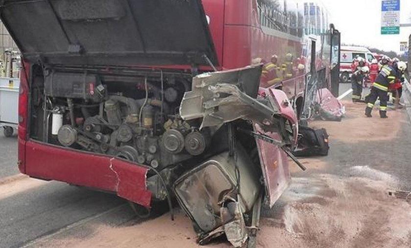 Wypadek polskiego autokaru w Austrii. 5 osób rannych