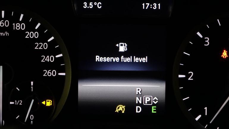 Ryzykowna jazda na rezerwie