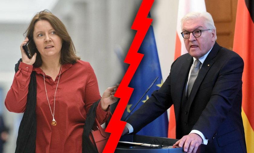 Niemcy chcą pomóc Polsce w walce z koronawirusem. Posłanka Lichocka ma plan