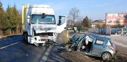 Tragiczny wypadek w Lubelskiem. Zginął policjant