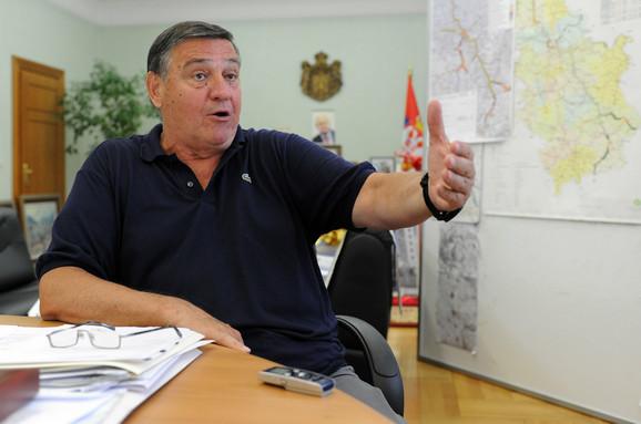 Celokupni koridor 10 će biti gotov u avgustu 2013, kaže Milutin Mrkonjić