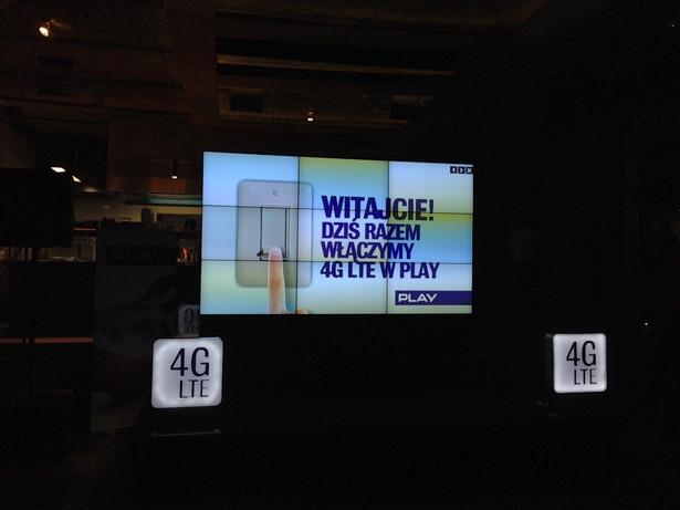 Inauguracja LTE w Play