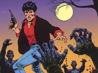 Komiks grozy i groteski. Dylan Dog