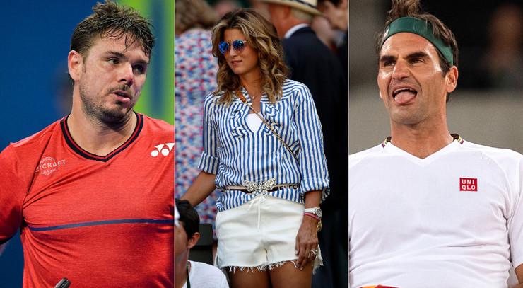 Stan Vavrinka, Mirka i Rodžer Federer