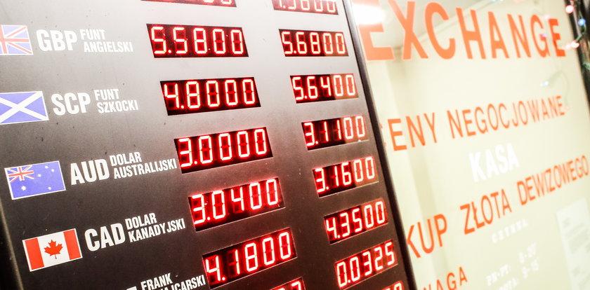 Co się dzieje w kantorach? Sprawdź dzisiejsze kursy walut