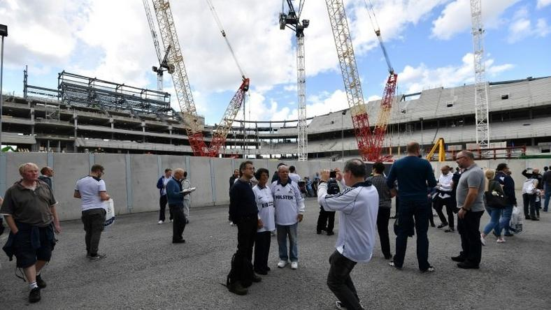 Delays to finishing Tottenham's new stadium have resulted in the club playing home games at Wembley for a second season