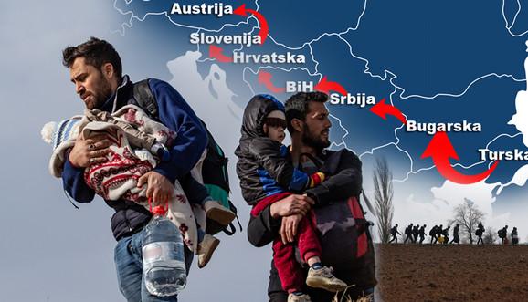 Erdogan je otvorio granice i na desetine hiljada migranata stiglo je brzo do Grčke, prve od nekoliko stanica na dobro utabanim rutama ka zapadnoj Evropi