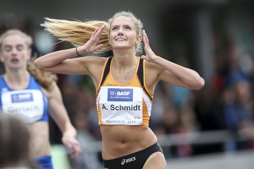 Pierwszy medal w reprezentacji Alica Schmidt (23 l.) zdobyła już jako juniorka.