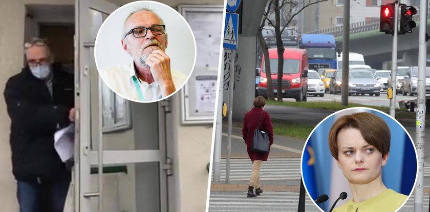Paweł Kasprzak poszedł do więzienia... za przejście nie po pasach