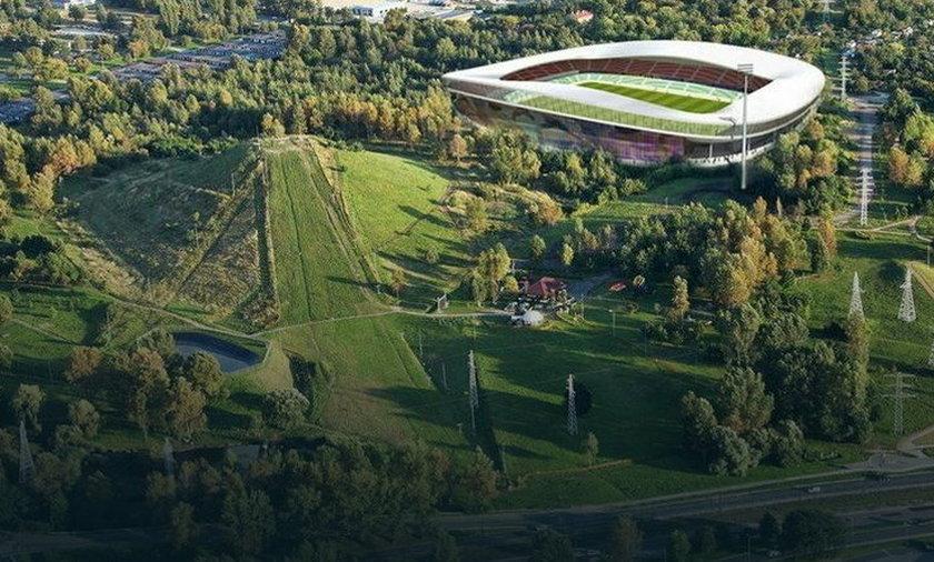 Zagłębiowski Park Sportowy - wizualizacja