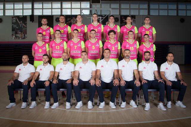 Kompletan tim i stručni štab Mega Bemaksa za sezonu 2019/2020