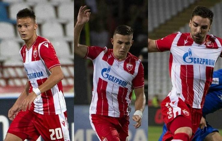 FK Crvena zvezda pojačanja, Krstović, Njegoš Petrović, Tomane