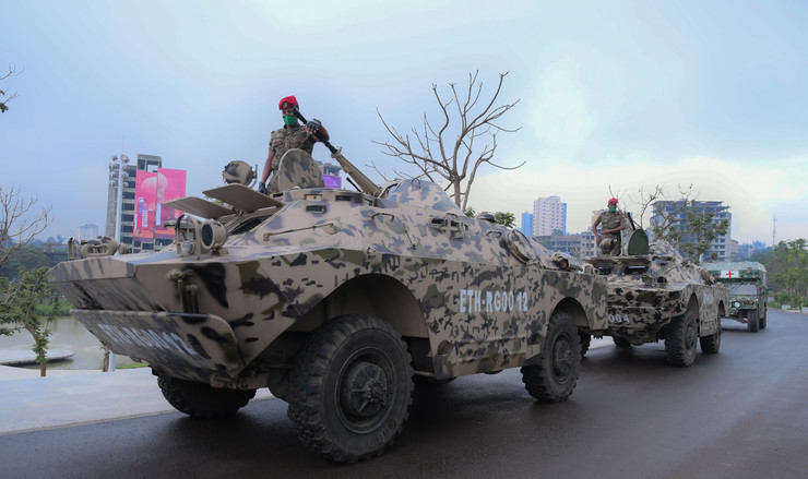 Etiopija, vojska