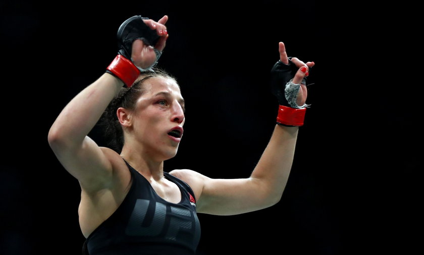 Joanna Jędrzejczyk w szpitalu po walce z Karoliną Kowalkiewicz w UFC