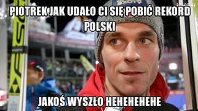 Polscy skoczkowie drudzy w konkursie PŚ w Vikersund - memy