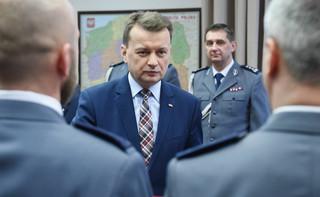 Błaszczak o ostrzale konsulatu w Łucku: nie można bagatelizować żadnych podejrzeń
