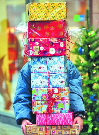 Świąteczne zakupy znów na bogato