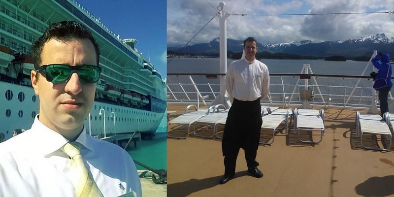 Jak wygląda praca kelnera na luksusowym statku