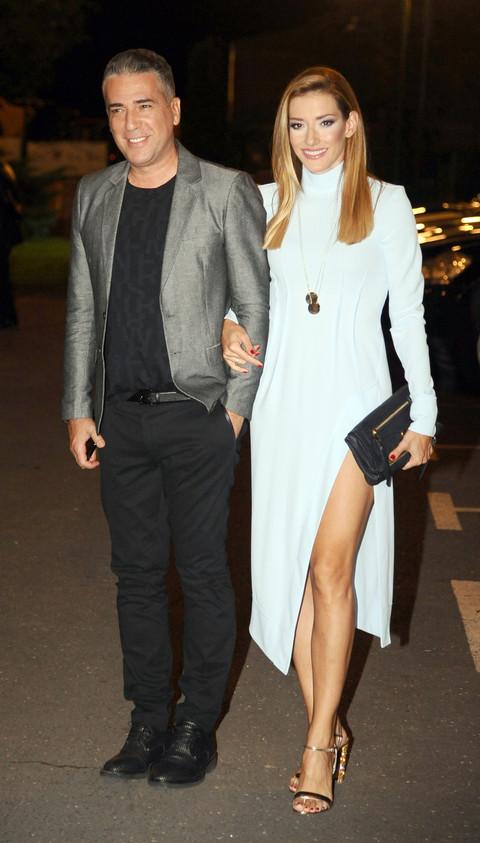 Željko i Jovana došli na rođendan Anastasiej Ražnatović, pa rekli nešto što je sve nasmejalo! VIDEO