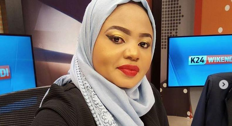 K24's Mwanaisha Chidzuga reveals daughter's face for the first time