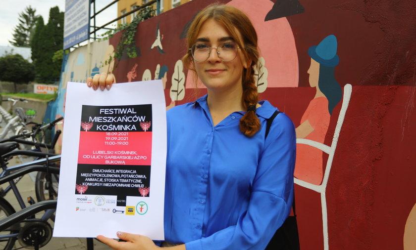Aleksandra Borzęcka zaprasza na weekendowy Festiwal