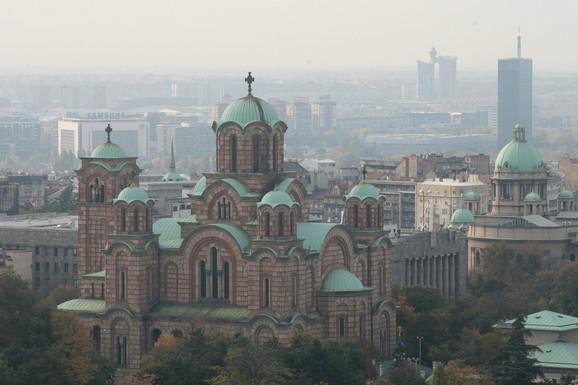 Deo Tašmajdanskog parka, oko 24 ara, ponovo je u posedu crkve svetog Marka
