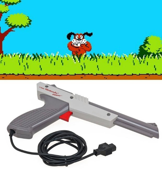 Pistolet do Pegasusa i gra Duck Hunt