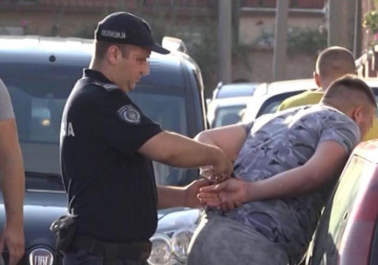 Hapšenje mladića zbog ubistva muškarca