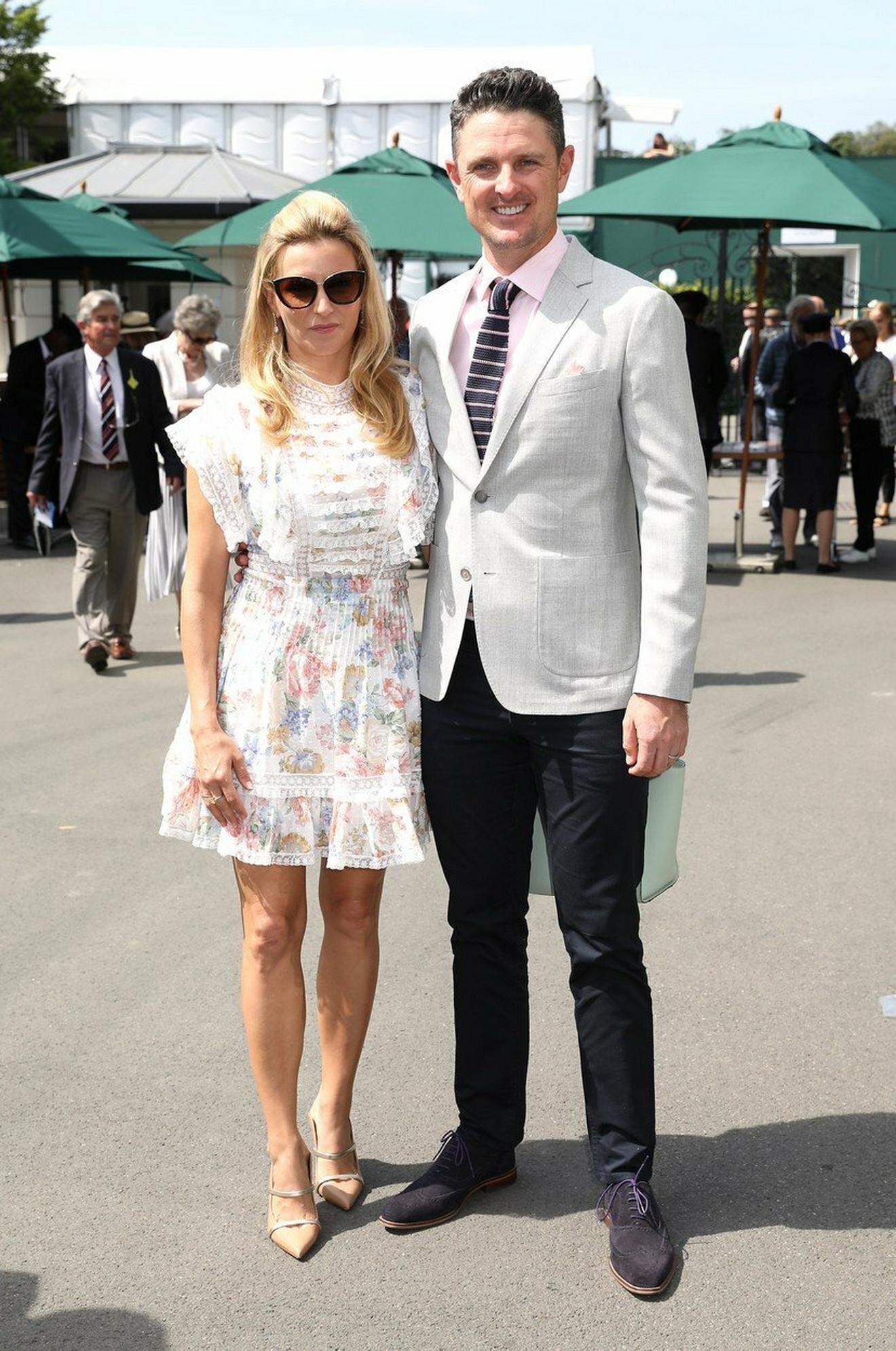 Golfer Džastin Rouz i Kejt Filips
