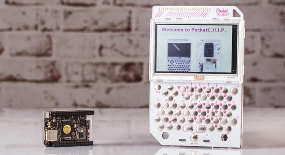 PocketChip im Hands-On: tragbarer Bastel-Computer