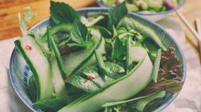 Tajska sałatka z ogórkiem. Kuchnie świata - Tajlandia