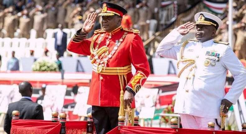 President Uhuru Kenyatta extends General Samson Mwathethe's term in office