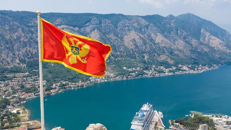 Czarnogóra. Flaga