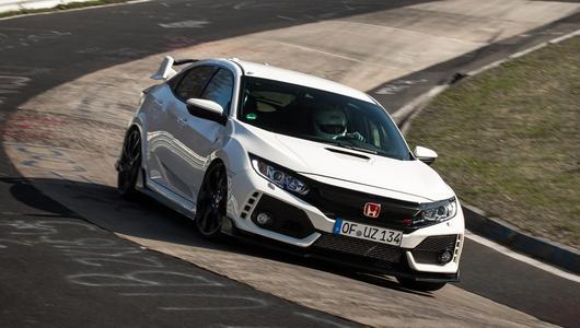 Honda Civic Type R (2017) - najszybsze FWD na Nürburgring