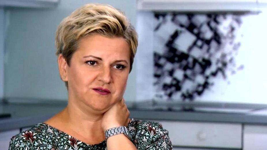 Dorota Świercz, screen z TVN24