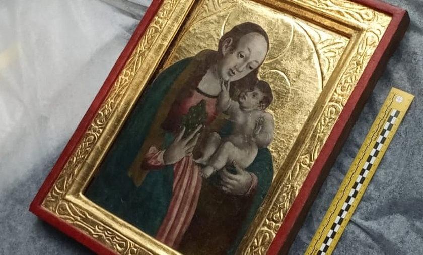 Świętokradcy chcieli zarobić na Matce Boskiej!